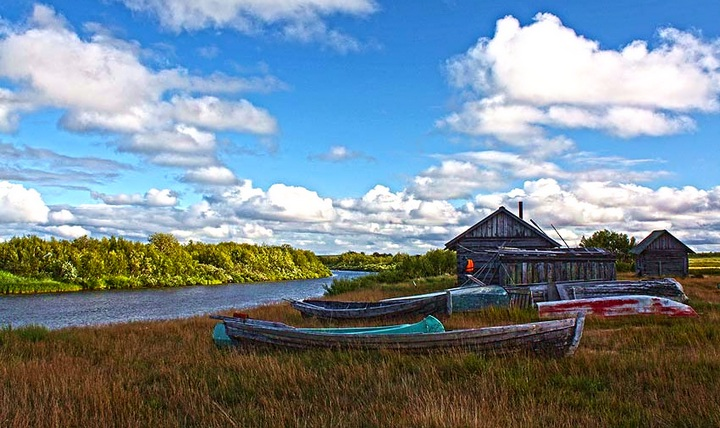 Мурманская область, Кольский полуостров, Хибины, долина реки Кунийок