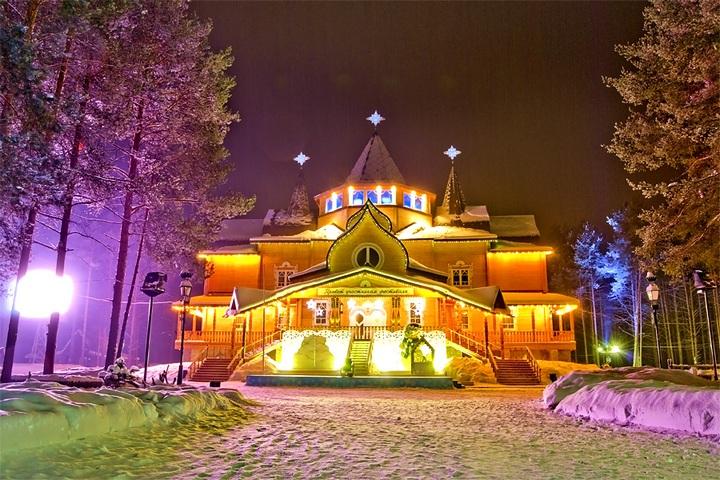 Резиденция Деда Мороза в Устюге