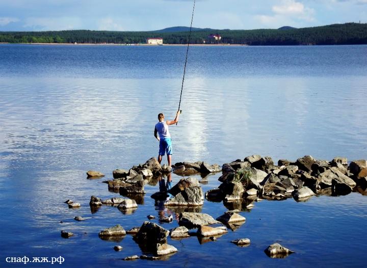 Рыбная ловля на озере Бурабай