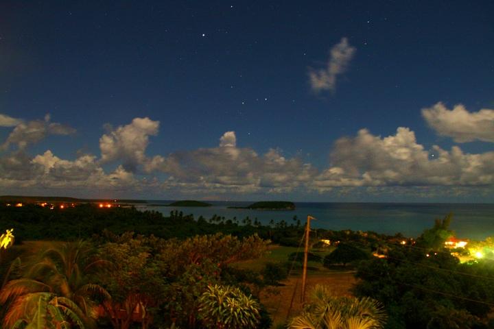 Небо на острове Вьекес