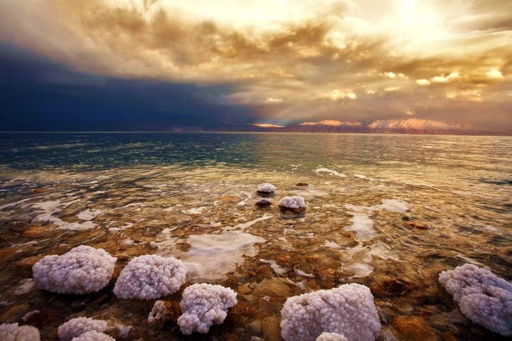 Мертвое море – уникально по расположению