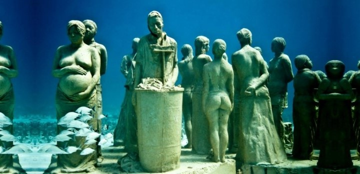 Мексиканские каменные подводные жители