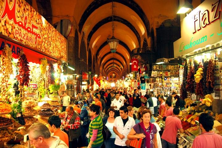 Рынок Капалы Чарши