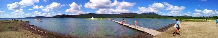 Пляжи озера Бурабай